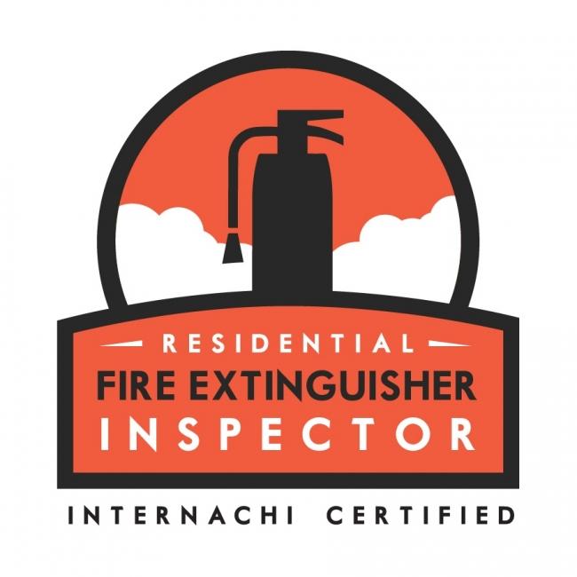 InterNACH Fire Extinguisher Inspector logo