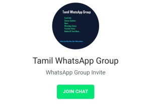 Tamil WhatsApp Group