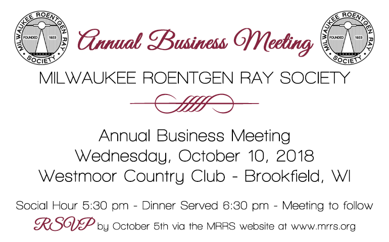 MRRS Annual Business Meeting 2018