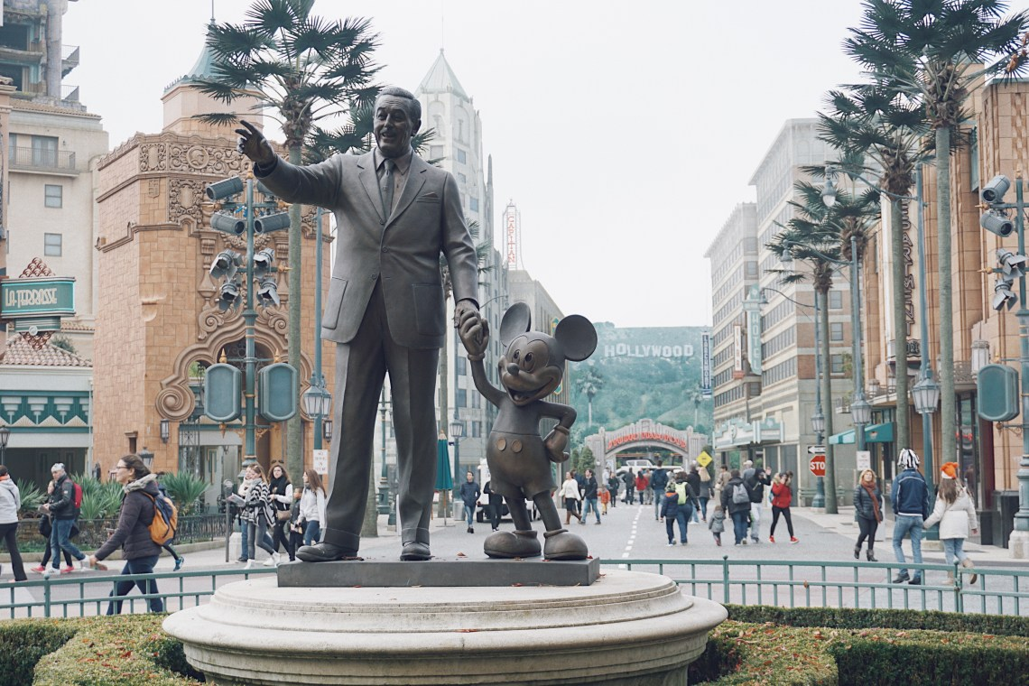 Disneyland® Studio. Walt Disney and Mickey Mouse. Magical Pride.
