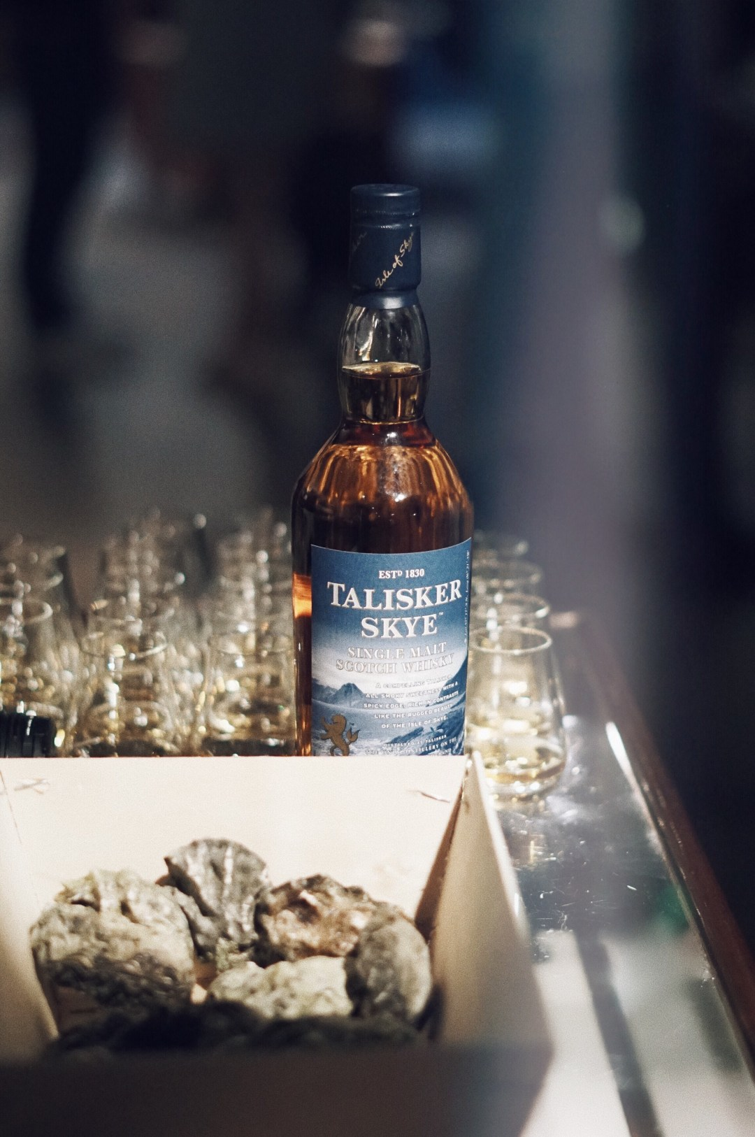 Oliver Sweeney store in Covent Garden. Talisker Scotch Whisky and Oysters by Oystermen. Blog by Skirmantas Petraitis.