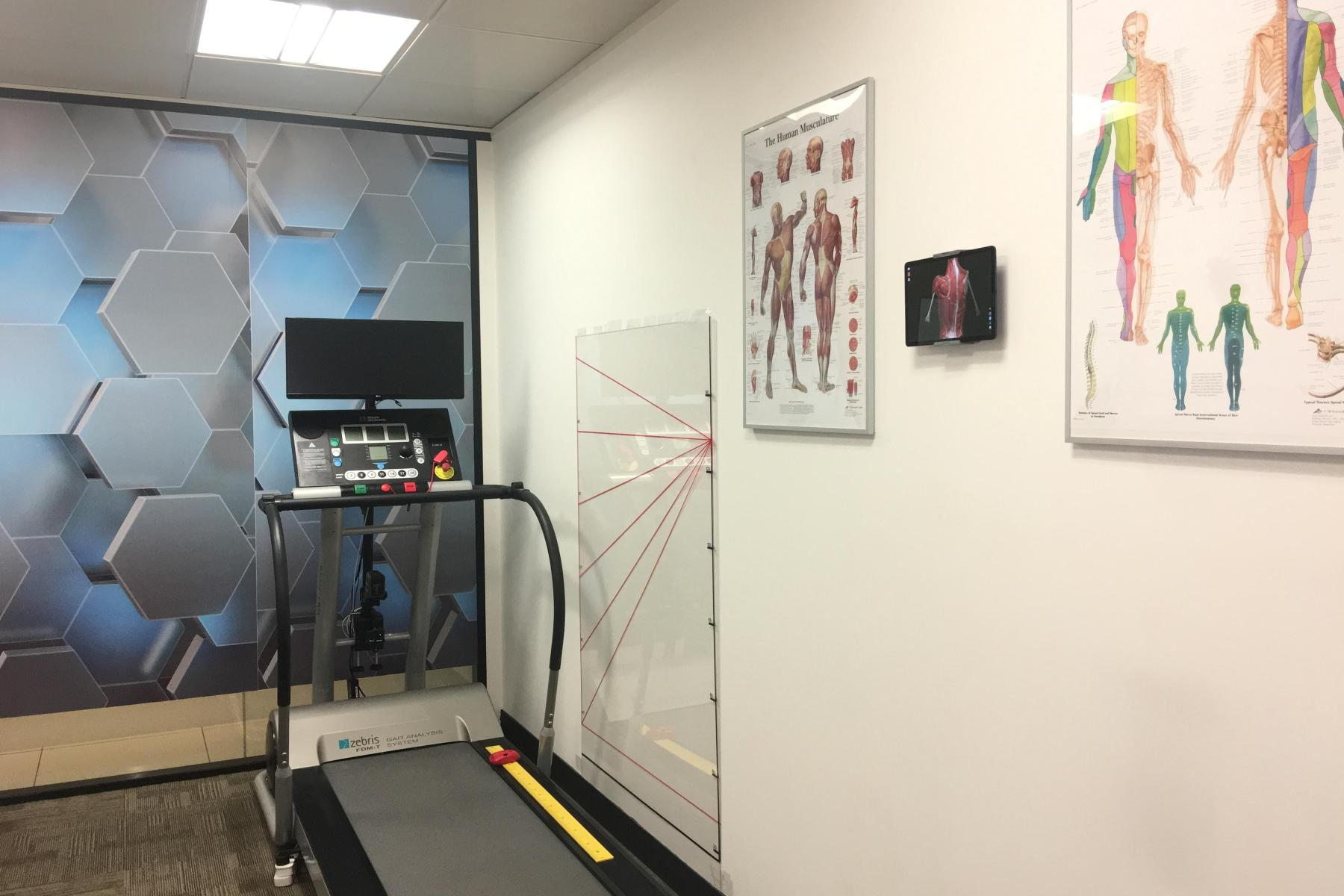 High-Tech Gait Analysis System