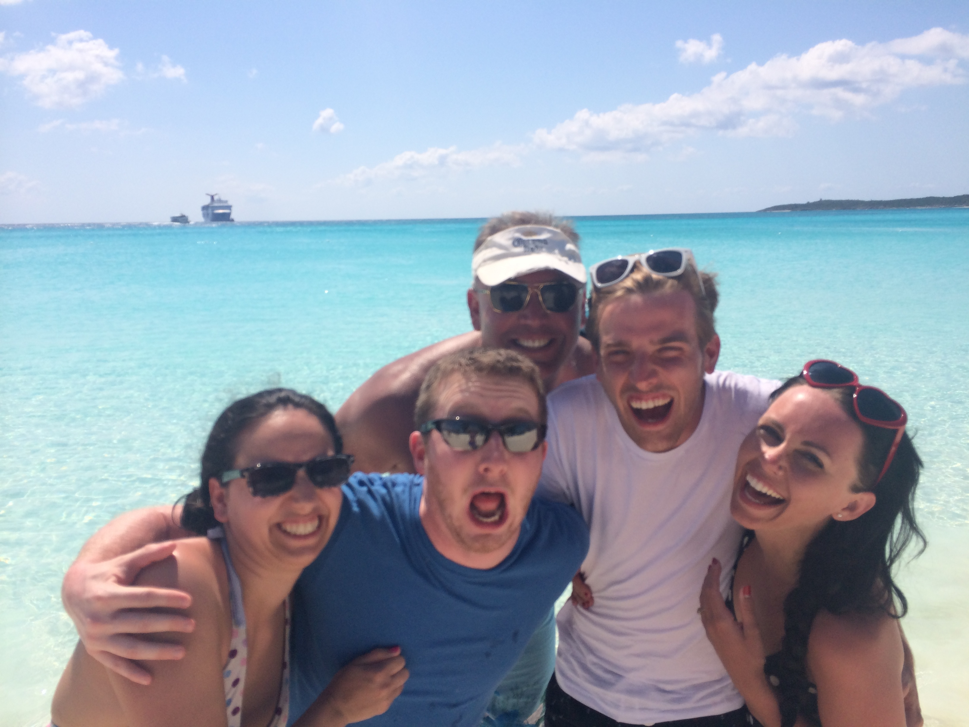 Take Two with a random cruiser Half Moon Cay| Mrs Amber Apple blog