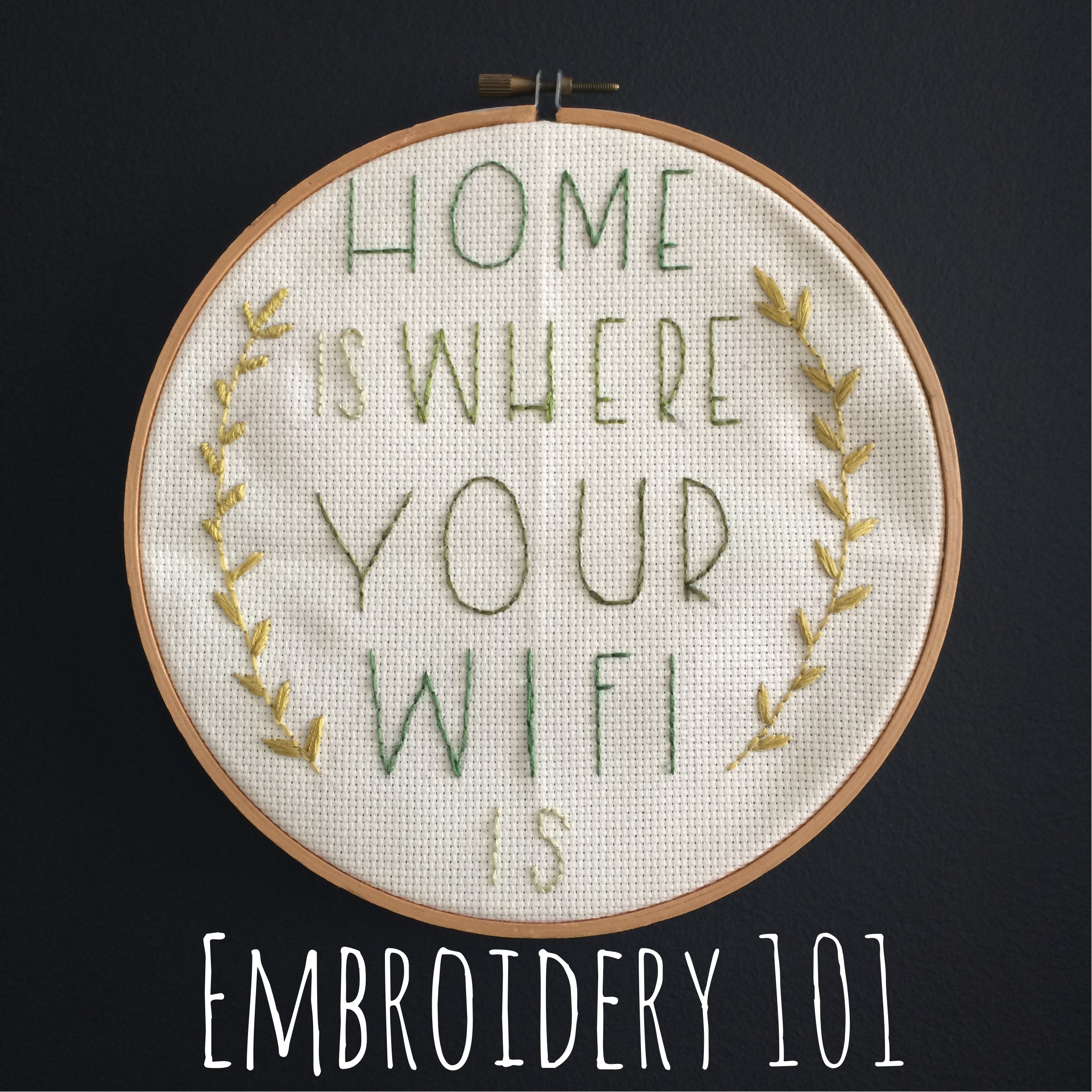 Embroidery 101 | Mrs Amber Apple Blog