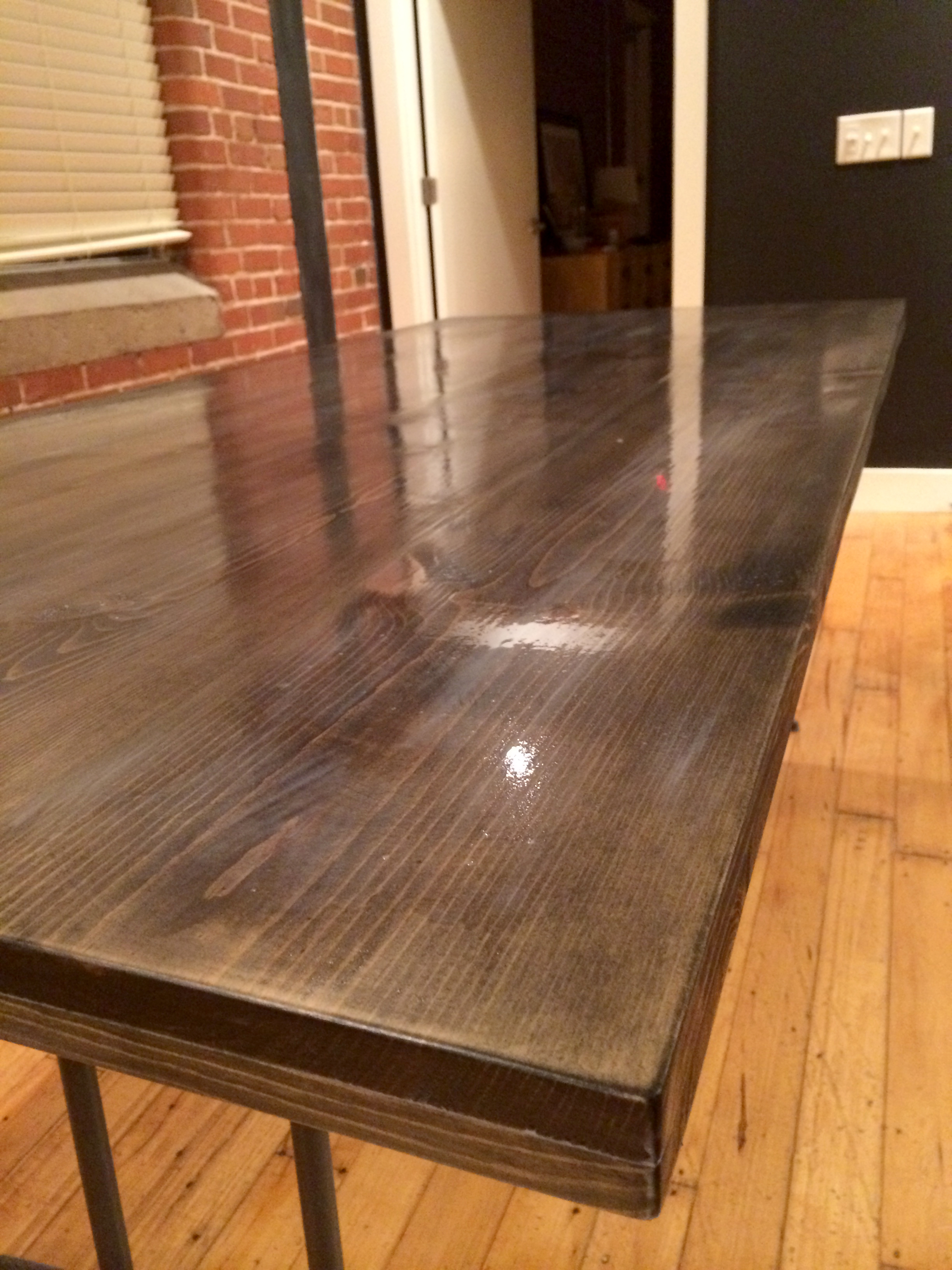 How To Fill Gaps In Wood Table
