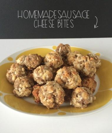Sausage Cheese Bites