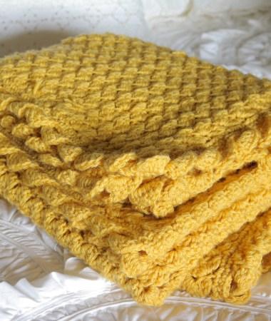 Blanket Stitch Throw