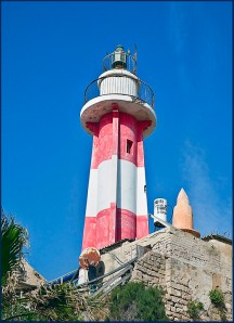 Yaffo Lighthouse and Minaret...