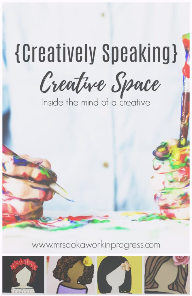 {Creatively Speaking} Creative Space. A look into a creative's mind/ creative space.