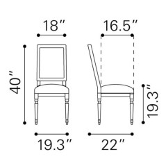 Chair Standard Height Cover Rental Little Rock Dining Dimensions Mrsapo