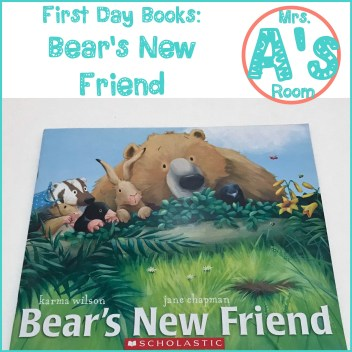 First Day Books: Bear's New Friend
