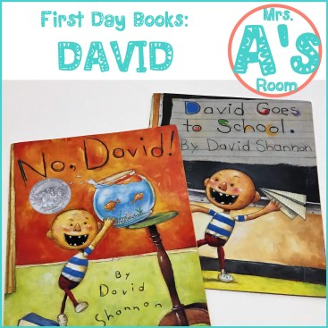 First Day Books: David