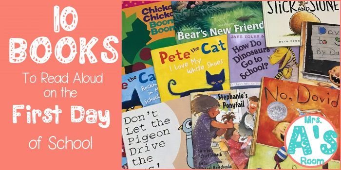 10 Books for the First Day of School