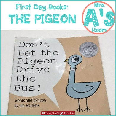 First Day Books: The Pigeon