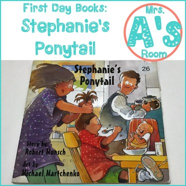 First Day Books: Stephanie's Ponytail