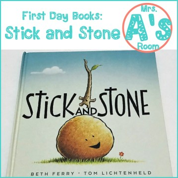 First Day Books: Stick and Stone