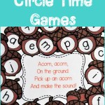 Fall Alphabet Circle Time Games