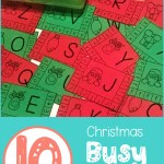 10 Christmas busy Boxes