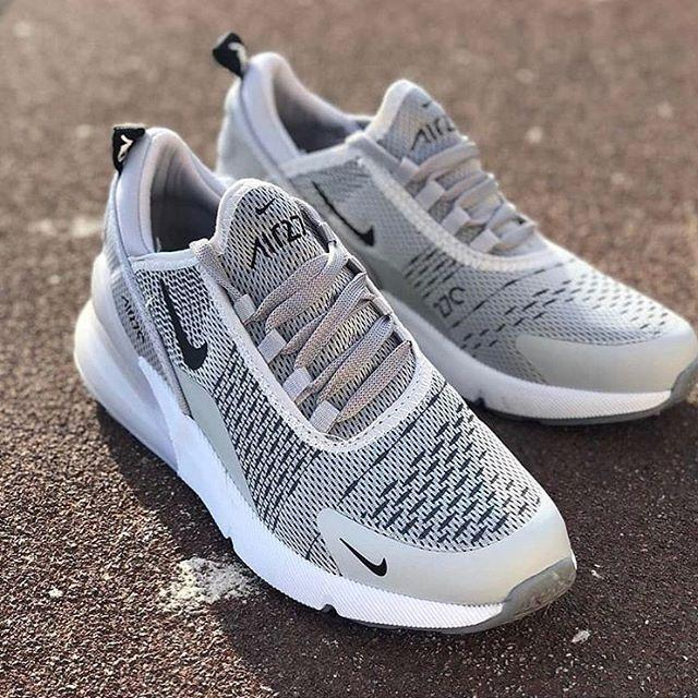 Replika Nike Air 270 Gri Bayan Erkek Spor Ayakkabı Mrs