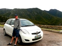 Driving along the Garden Route, South Africa