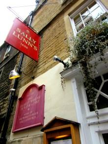 Visiting Sally Lunn's in Bath