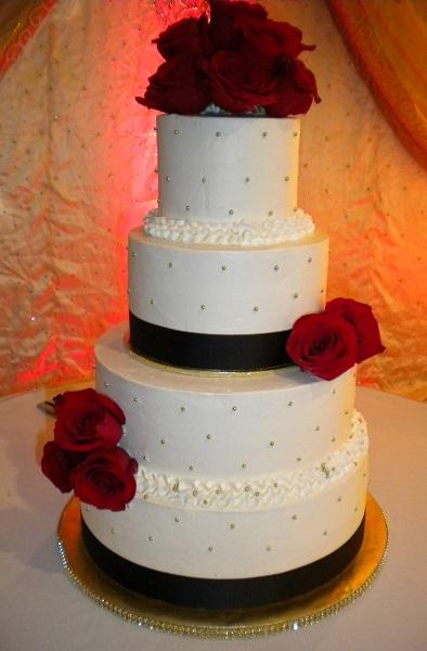 Custom Designed Wedding Cakes  Mrs Bs Bakery Little Falls NJ