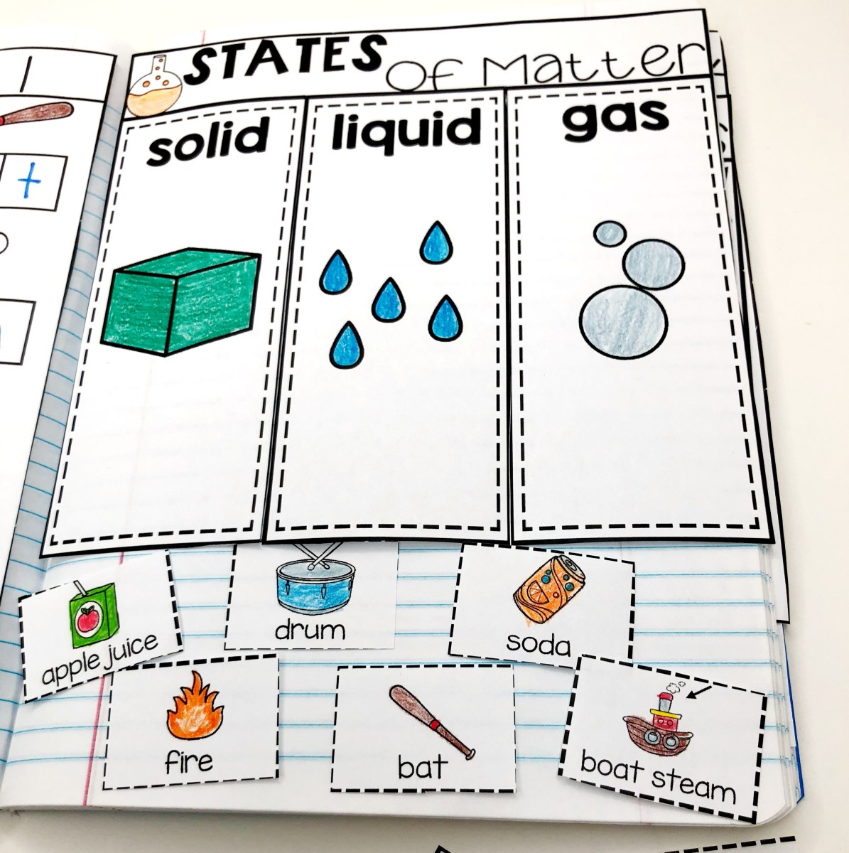 Kindergarten Science Interactive Journals and a FREEBIE!