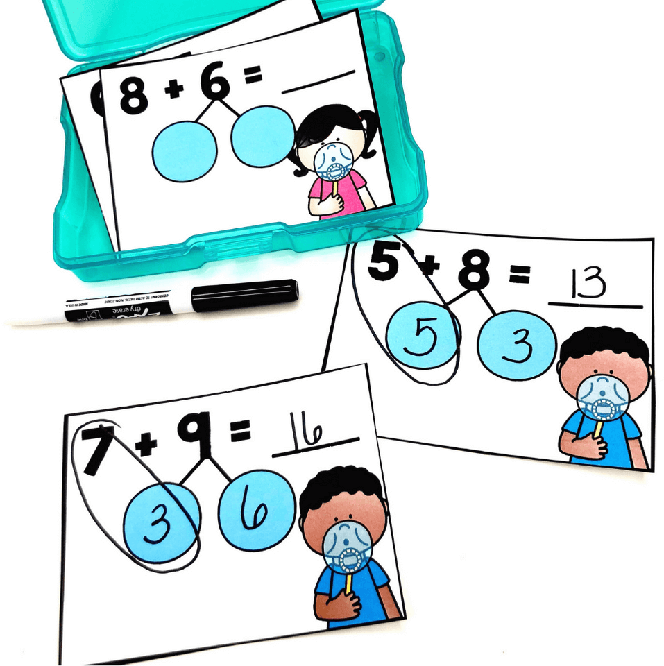 hight resolution of Why Are Number Bonds in Kindergarten So Important? – Mrs. B's Beehive