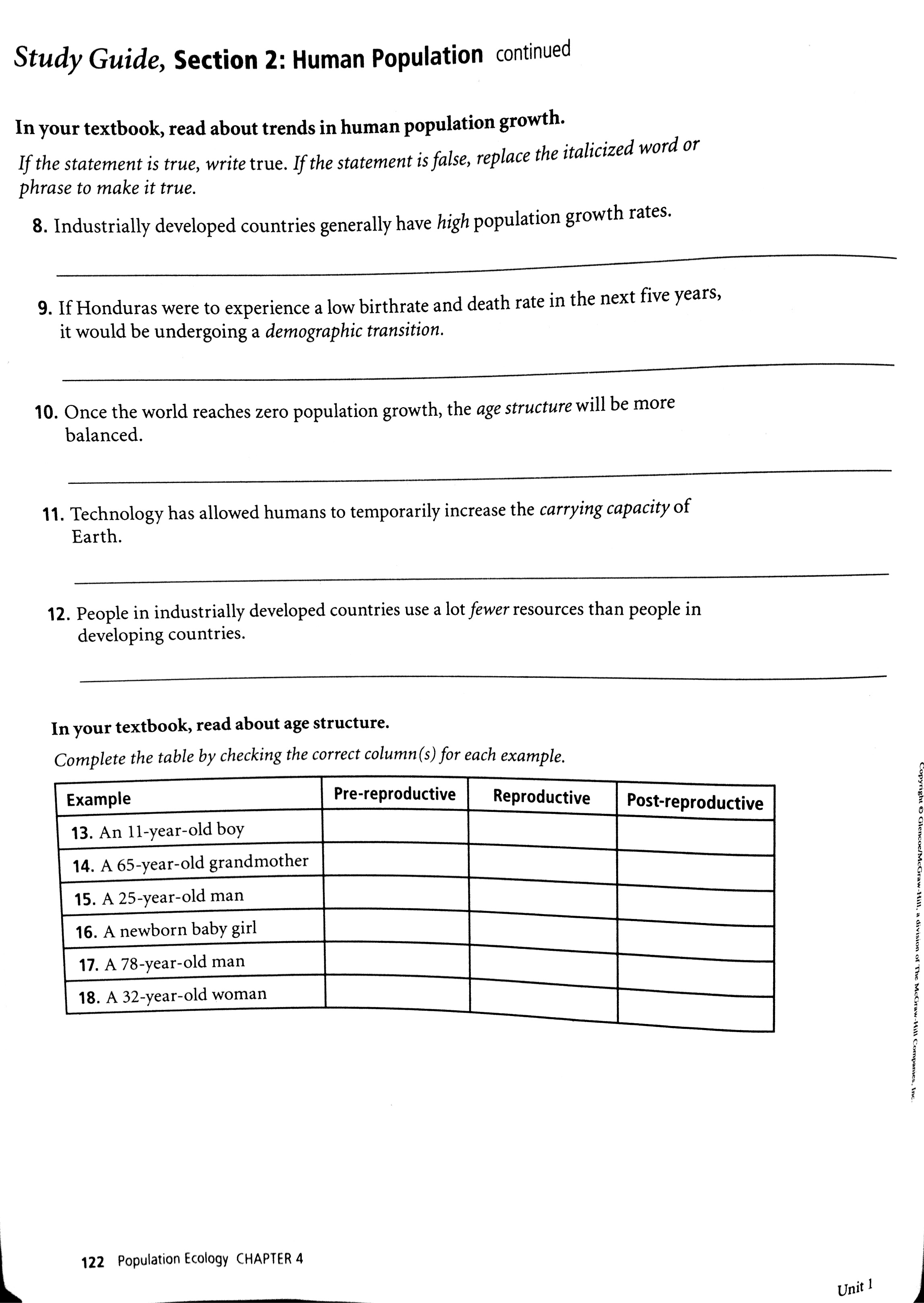 Worksheet Population Ecology Worksheet Worksheet Fun