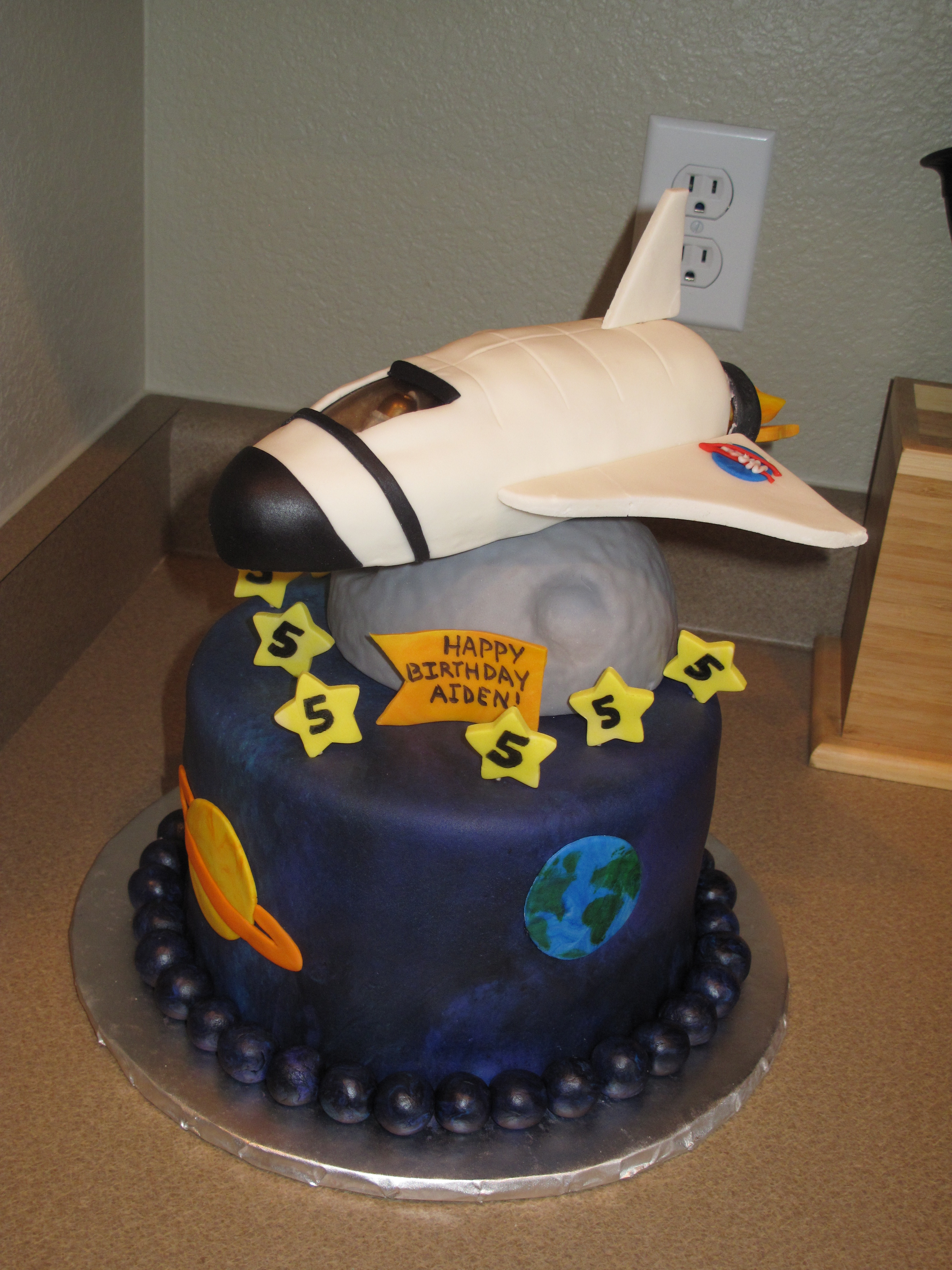Space Shuttle Birthday Cake Page 2