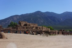 We went to the Taos Pueblo twice. The first time was for a Corn Dance, and the second was for the tour.