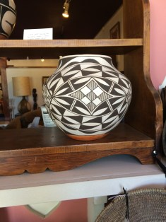 The Acoma pottery was to die for...and so expensive.