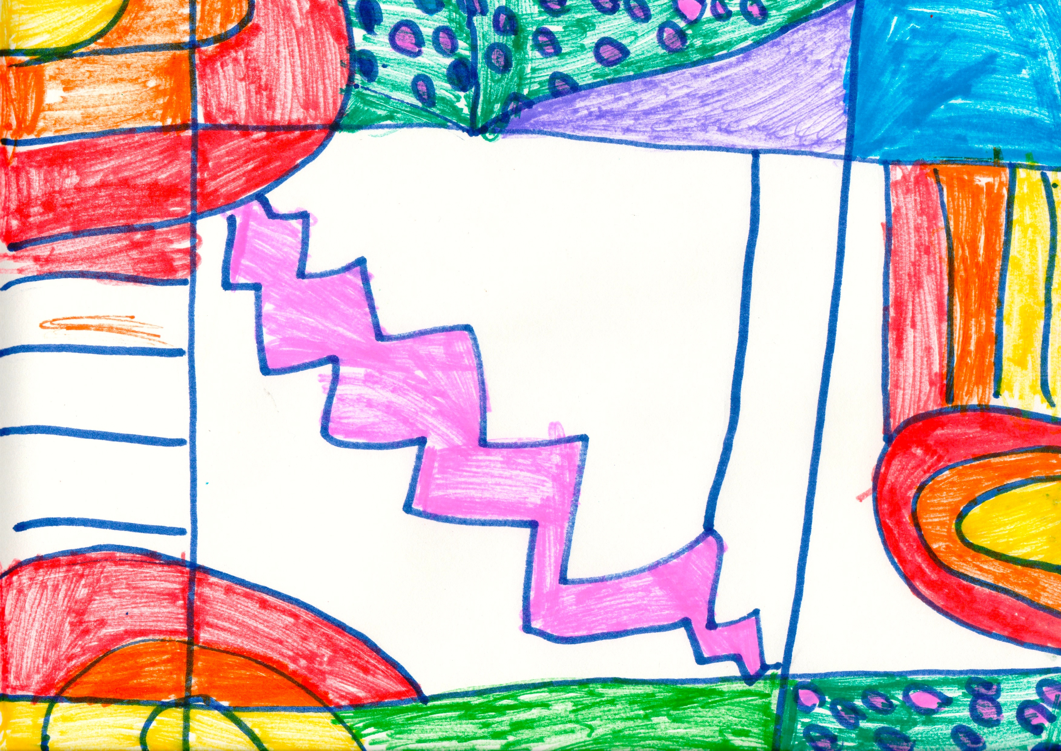 Martin Luther King Elementary Second Grade Artists