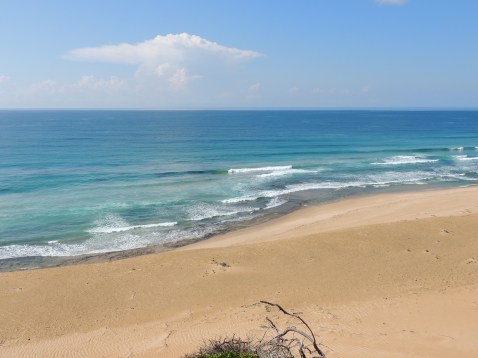 Views of the coast from the sand dune