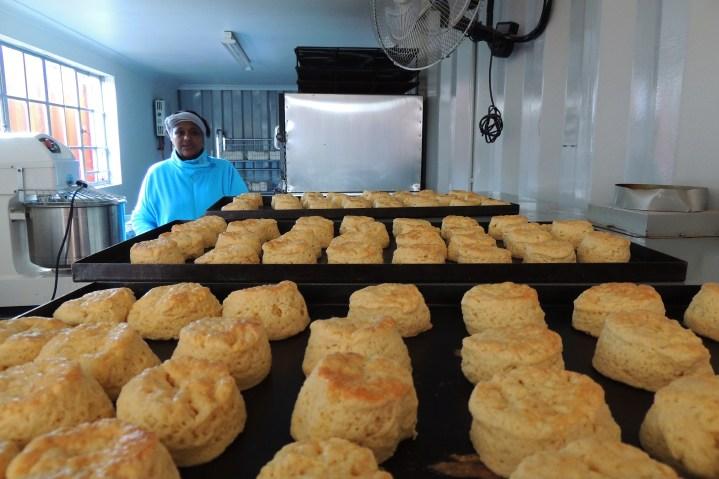 They made scones for Mothers Day!