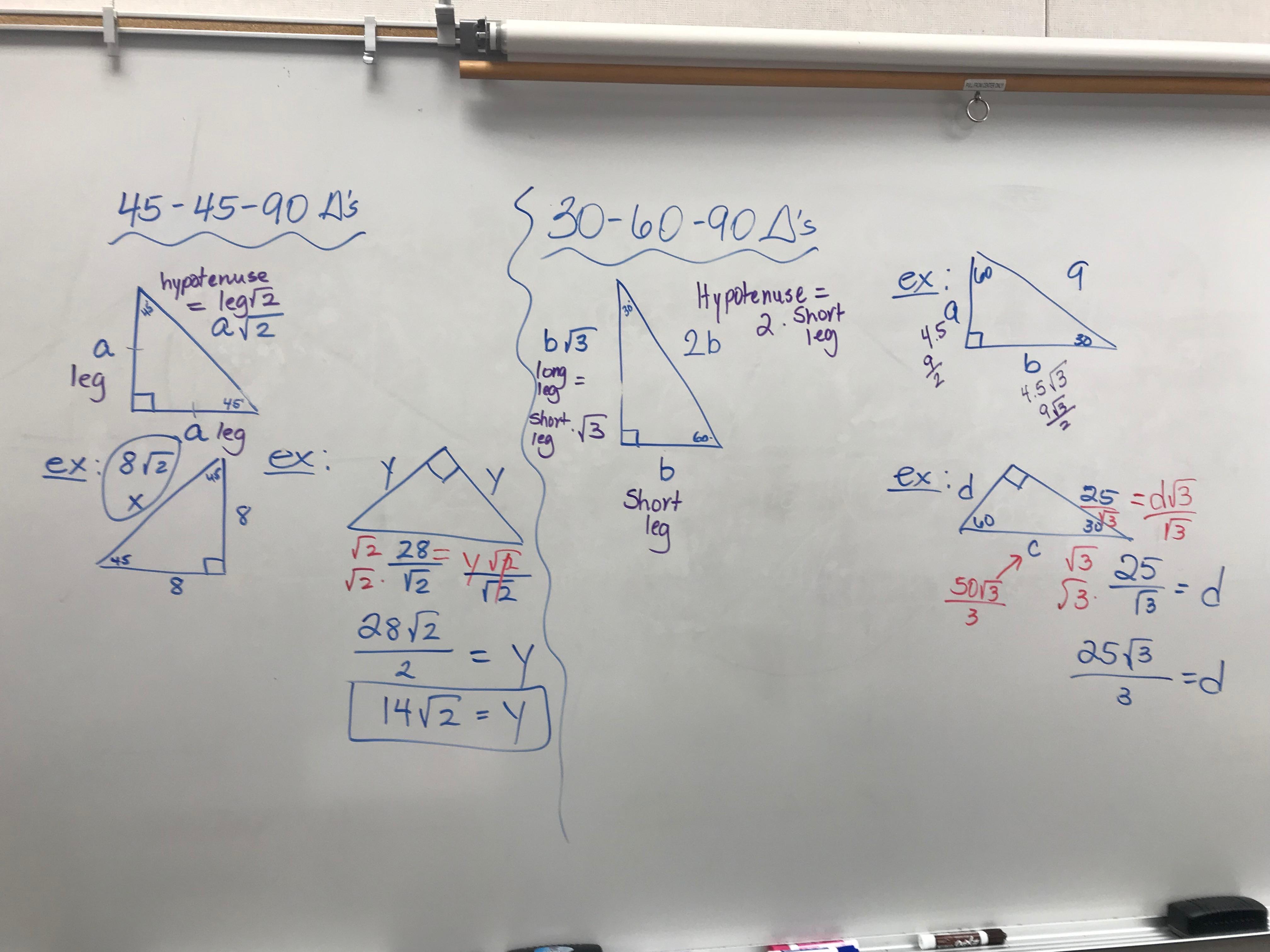 Pre Calculus Trig