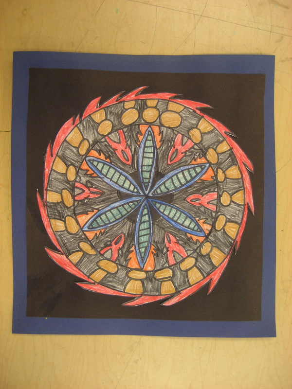 """Mandalas """"The Purpose Of Art Is Washing The Dust Of"""