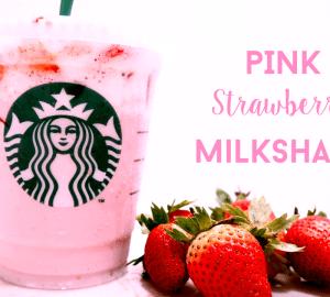 Pink Drink Strawberry Milkshake Recipe