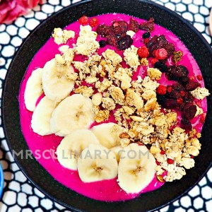 Smoothies bowl recipe - Mrs. Culinary