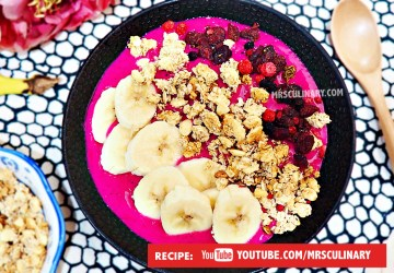 Cara Membuat Smoothies Bowl by Mrs Culinary