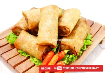 Resep Lumpia Goreng isi sayur By Mrs Culinary