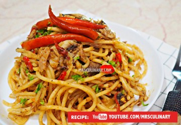 Spaghetti Aglio Olio By Mrs Culinary