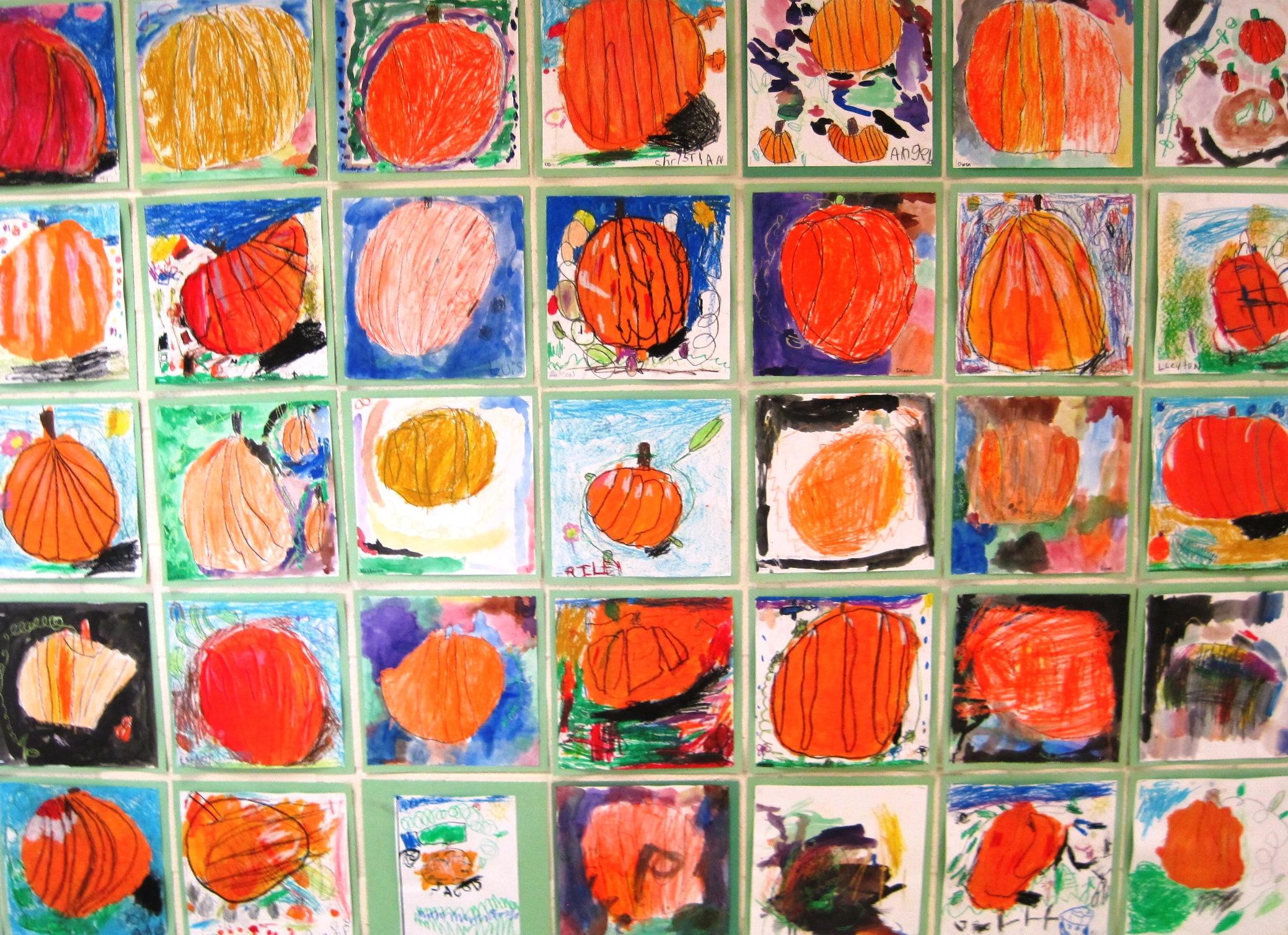 Kindergarten Pumpkin Patch