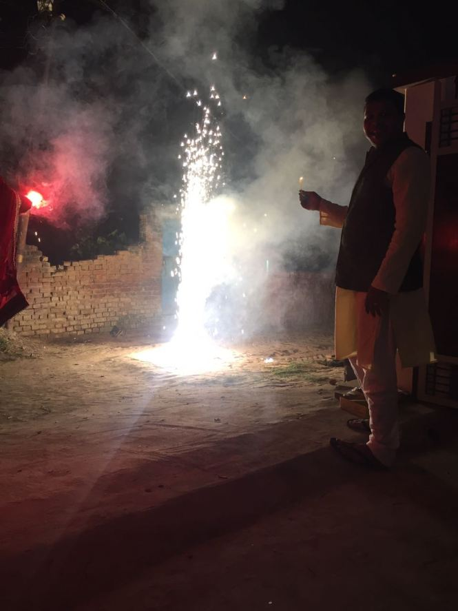 travelling to india during diwali