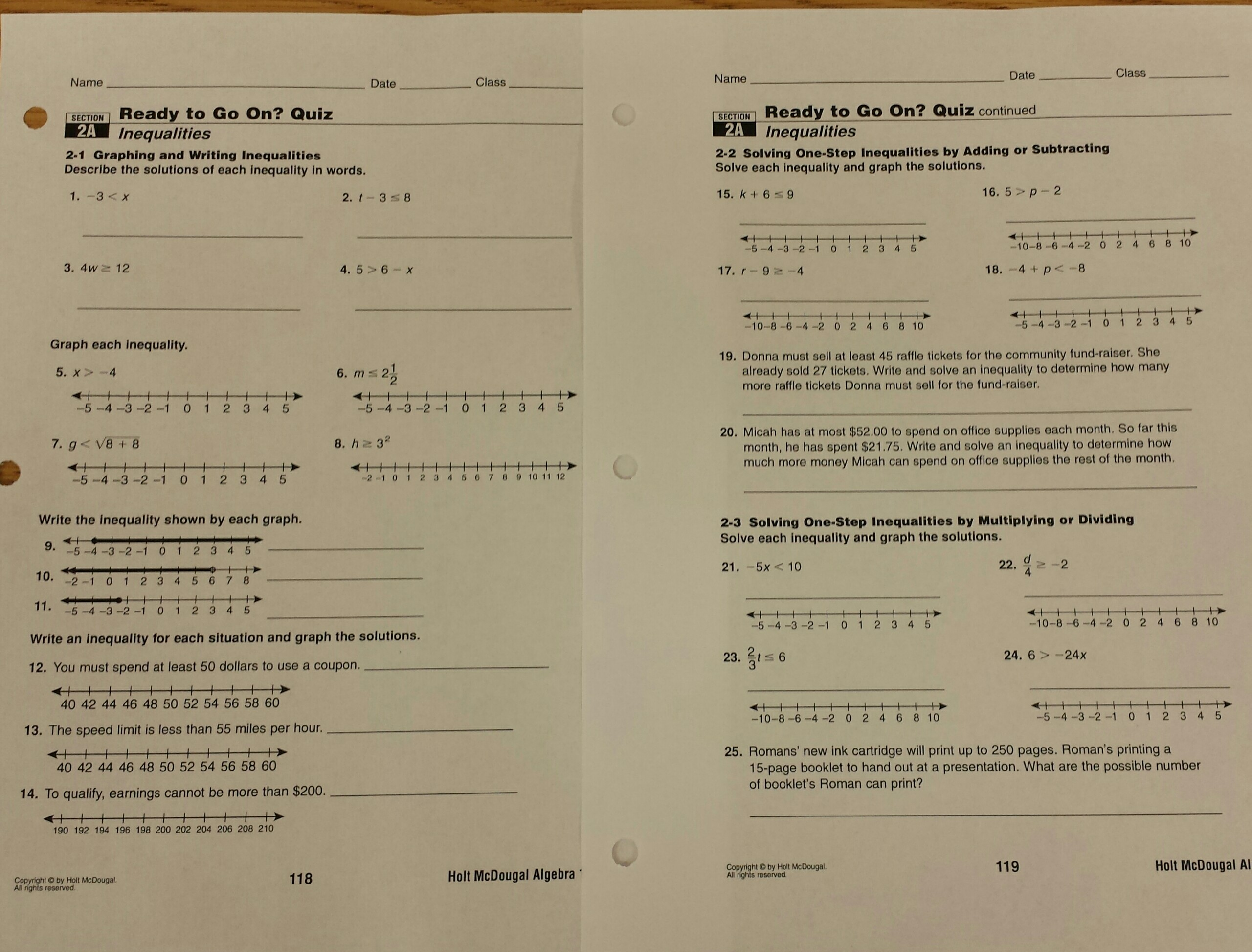 Prentice Hall Gold Algebra 2 Answers Form G