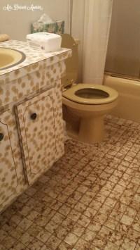 Guest Bathroom Remodel  In Yellow!   Mrs. Dessert Monster