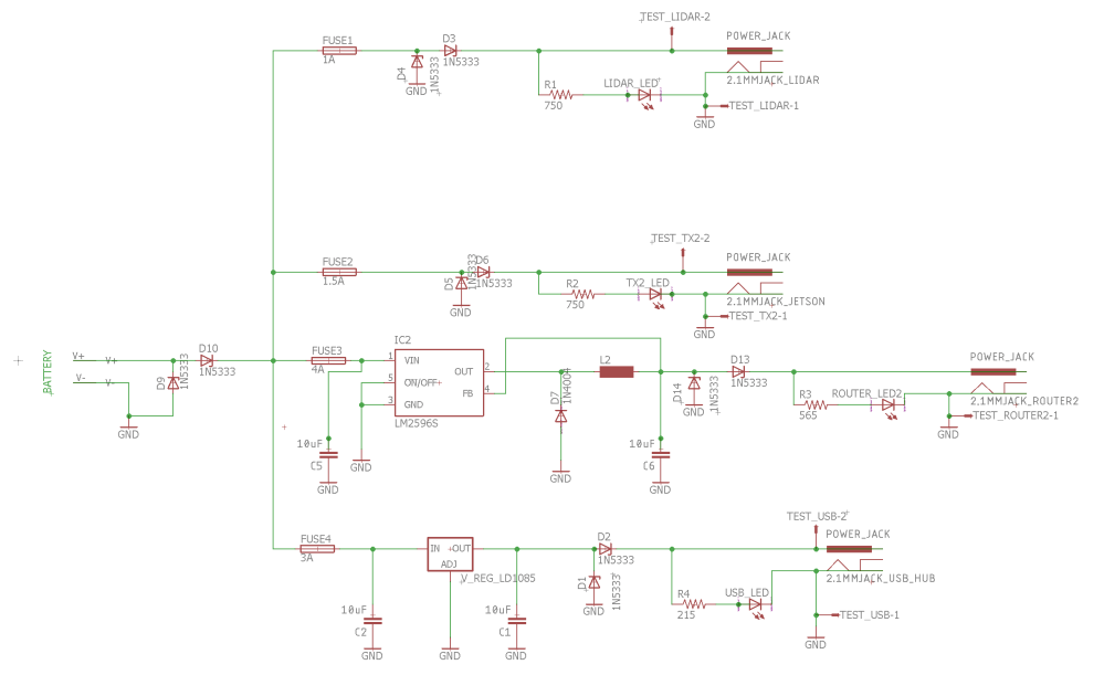 medium resolution of power distribution board u2013 mrsd team ewe designed the schematic based largely off of the