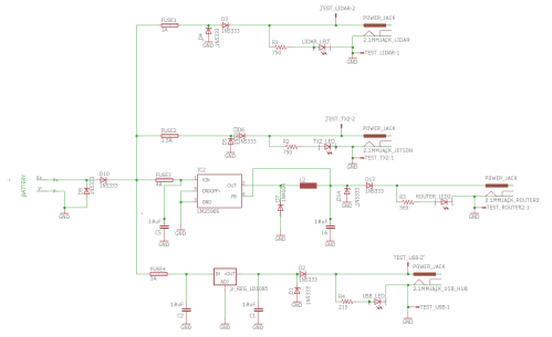small resolution of power distribution board u2013 mrsd team ewe designed the schematic based largely off of the