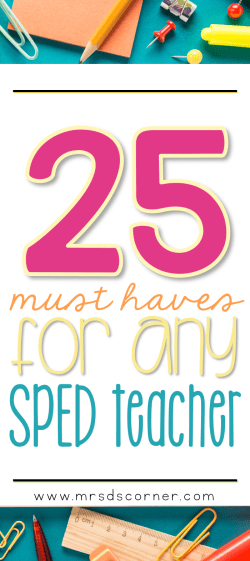 teachers must haves