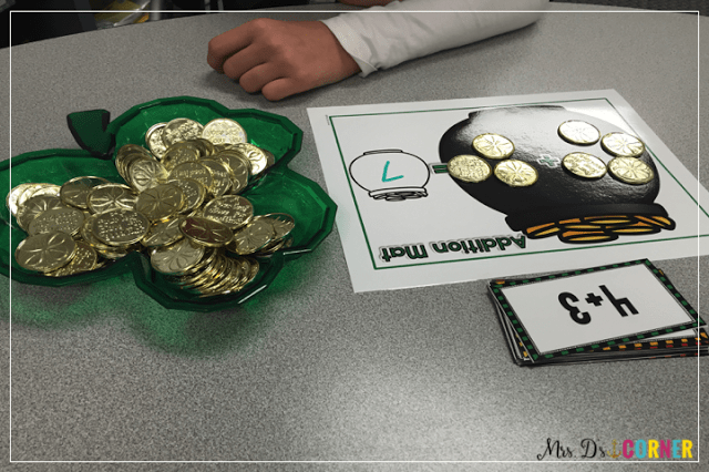 Free saint patrick's day centers in the resource library, only at Mrs. D's Corner.